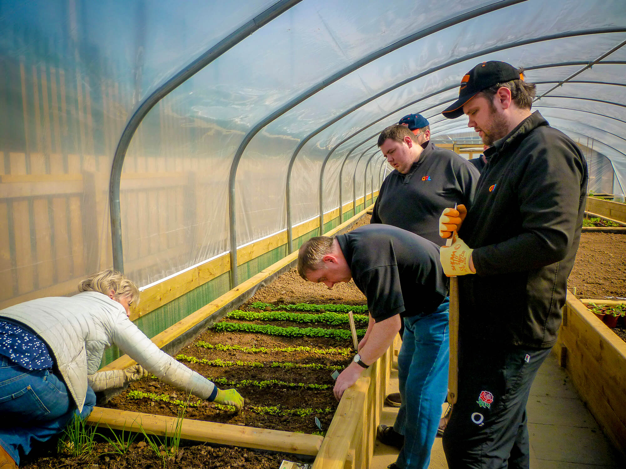Greenhouse Horticulture Class AEL