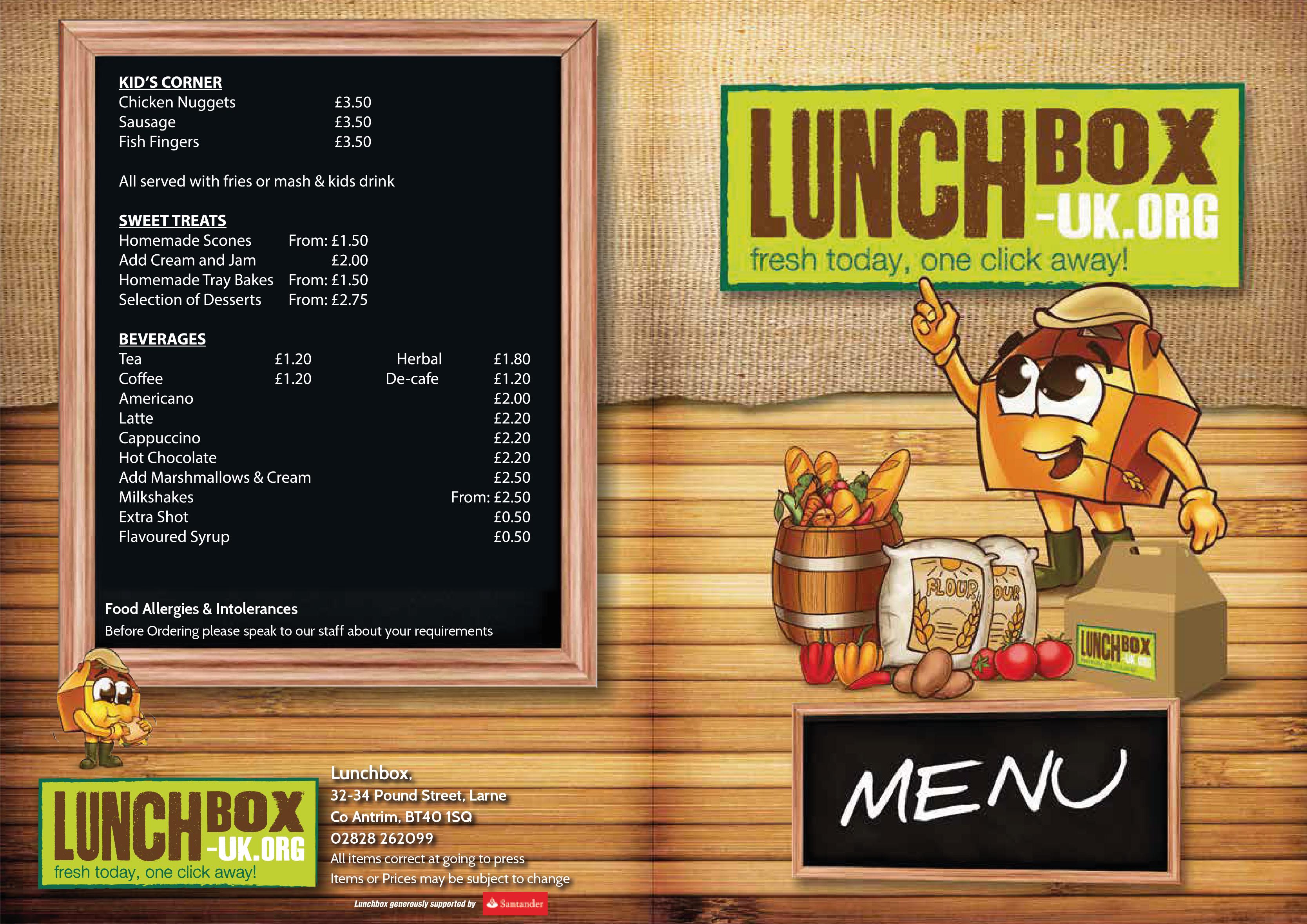 Lunchbox Larne | AEL
